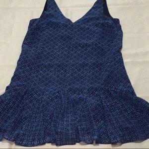 Ralph Lauren long waisted tank dress